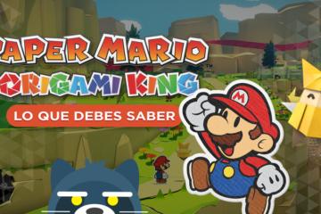Lo que debes saber de Paper Mario The Origami King para Nintendo Switch