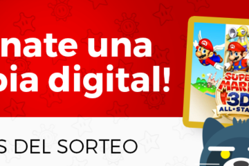 sorteo super mario 3d all stars