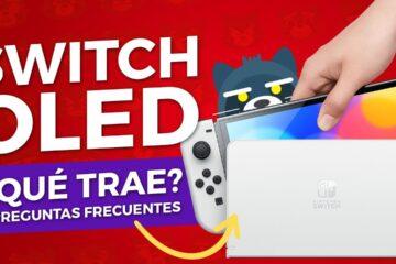 Lo que debes saber del NUEVO Nintendo Switch OLED y preguntas frecuentes